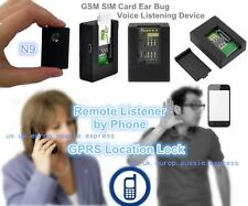 N9 Spy GSM Voice Activate Listener Remote Call Back Ear Bug GPRS Location Target