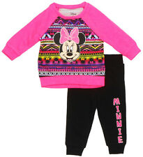 Disney Infant Girls Minnie Mouse Neon Minnie 2-Piece Outfit