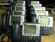 LOT of 50 Cisco CP-7941G 7941G Two Button SCCP VoIP PoE (SIP AVAILABLE)