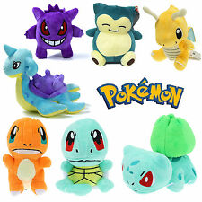 Pokemon Go Character Anime Squirtle Bulbasaur Gengar Stuffed Soft Toy Plush Doll