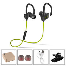 Bluetooth 4.1 Wireless Sweatproof Earbuds Headset Earphone for iPhone Samsung LG