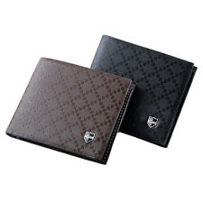 Fashion Men's Leather Wallet Pockets Card Clutch Cente Bifold Purse Agile