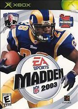Madden NFL 2003 (Microsoft Xbox, 2002) Disc Only!