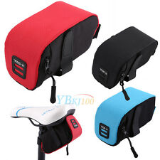 "B-Soul 5.9"" Outdoor Bike Bicycle Cycling Saddle Bag Tail Seat Rear Pouch Storage"
