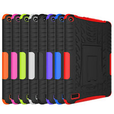 Shockproof Rugged Hard Tyre Case Cover For Amazon Kindle Fire 7 5th Gen (2015)