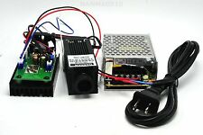 Focusable 1.6W 1600mW 808nm Infrared IR Laser Diode Moudle w/ 12v 3A Power