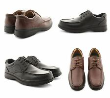 NEW MENS FLAT LOW HEEL LACE UP DRESS BUSINESS WORK FORMAL OFFICE SHOES UK SIZES