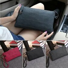 Fashion Women PU Leather Shoulder Bag Clutch Handbag Tote Purse Hobo Messenger
