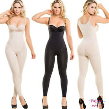 Seamless Full Compression Body Shaper Fajas Colombianas Thermal Piernas Bodysuit
