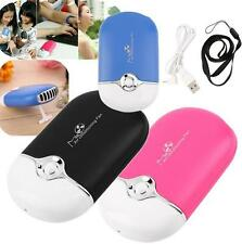 1PC Handheld Air Conditioning Mini Portable USB Cooling Fan Rechargeable Cooler