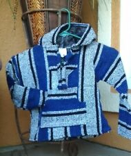Mexican toddler Baja Hoodie Pullover Multi Colors and Multi toddler Size