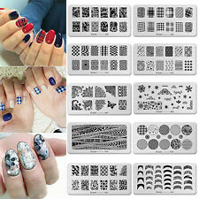 Nail Art Printing Plate Image Polish Stamping Plates DIY Manicure Template Tool