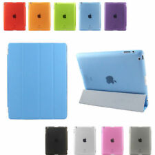 Premium PU Leather Ultra Thin Smart Stand Cover Hard Shell Case for iPad 2 3 4