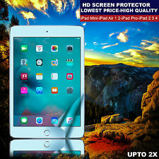 2x Anti-Scratch Ultra Clear Thin Screen Protector Guard For iPad Air 1 2 Pro9.7""