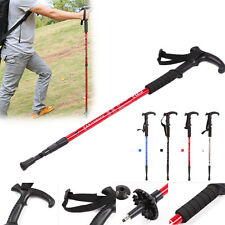 Climbing Durable Adjustable Hiking Trekking Walking Pole Cane Stick Crutch
