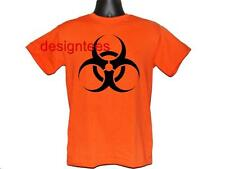 BIOHAZARD SIGN CUSTOM DESIGN TEE T SHIRT T-SHIRT S M L XL 2XL 3XL NEW 9 COLORS