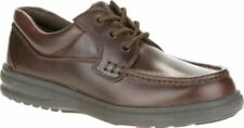NEW Mens HUSH PUPPIES Dark Brown Pullup Leather GUS Oxford Shoes H18784