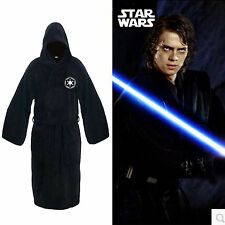 Star Wars Jedi Sith Costume Fleece Hooded Bathrobe Night-robe Gown Cloak Capes