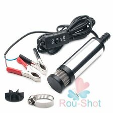 12V Detachable Submersible Pump 38mm Water Oil Diesel Fuel Transfer Refueling