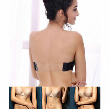 Women Strapless Transparent Invisible Sexy Clear Back Straps Bra Push up Bra