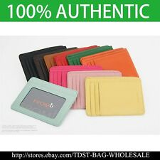 [Fromb] Korea Special Designed Art Wallet Useful Slim Leather Card Wallet M732