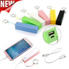 Portable 2600mAh External Power Bank Backup Battery USB Charger for Cell Phones