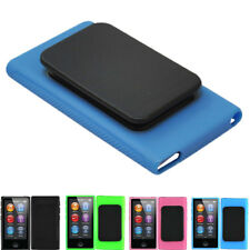 Ultra Thin TPU Rubber Soft Case Cover Skin Belt Clip For iPod Nano 7 7G 7th Gen