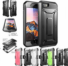 For iPhone 7 7 Plus Shockproof Cover Case Screen Protector Belt Clip Holster