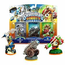 Skylanders Giants Chop Chop, Golden Dragonfire Cannon, & Shroomboom NIP