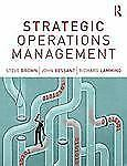Strategic Operations Management by Steve Brown Paperback Book (English)