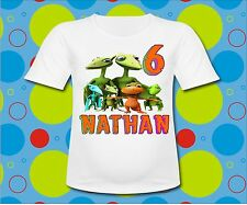 Personalized Dinosaur Train T Shirt Dinosaur tee Birthday shirt