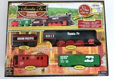 NEW EZ-TEC 29-Piece Battery Operated Train Set - Forty Niner Special - Santa Fe