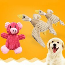 New Pet Puppy Chew Teeth Squeaker Squeaky Plush Sound Duck Pig For Dog Play Toy