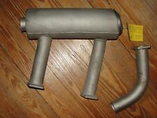 Bellanca Viking 17-30,  LH Muffler with Riser, for Continental IO-540