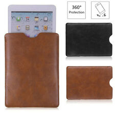 "Luxury Leather Sleeve Bag Case Cover Pouch for 8"" 9"" 10""inch MID Tablet iPad LU"