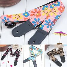 Vintage Style Adjustable Nylon Ukulele Strap Sling Belt For Ukulele Guitar