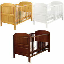 East Coast Angelina Solid Pine Cot Bed Baby Child Toddler Nursery Furniture BNIB