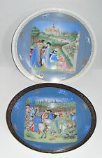 Darceau Limoges Limited Edition Seasons Wall Plates