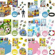 Boys Girls Pre filled Birthday Party Boxes Food Loot Lunch Cardboard Gift Kids