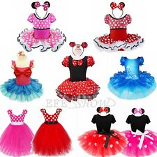 Fairy Polka Dots Minnie Mouse Baby Girls Fancy Party Costume Dress Gift EFESHOW