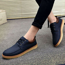 New Fashion England Men's Breathable Recreational Shoes Casual Male shoes