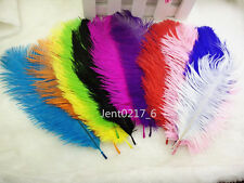 Wholesale 10-100PCS high quality natural ostrich feathers 6-8 inch/15-20cm