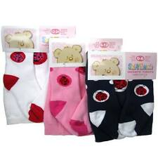 Baby Girls Tights - Ages 0-6 mths, 6-12 mths and 12-24 mths