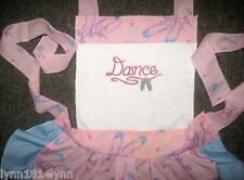 GIRLS/KIDS GEORGOUS DANCE BALLET APRON Many tops Made to order Can personalise