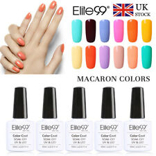 Elite99 Macaron Colors Gel Nail Polish New UV LED Manicure Lacquer Top Base