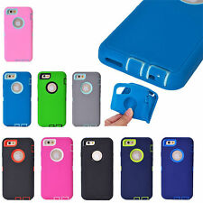 """For Apple iPhone 6 6S 4.7/5.5"""" Plus Cover Shockproof Hard Protective Hybrid Case"""