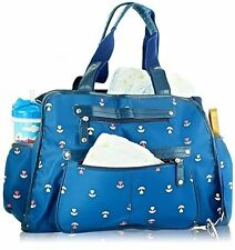 NEW  Baby Diaper Bags Girls & Boys w/ Changing Pad Stroller Clips Shoulder Strap