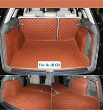 Trunk Boot Car Liner Mat Carpet For Audi Q3 2011-2016 Year Waterproof Auto Cover