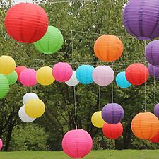 "Wedding Party Engagement Decoration Round Chinese Paper Lantern 8"" - 12"" Optimal"