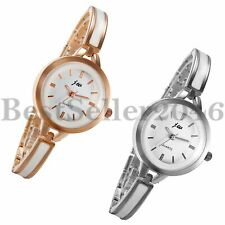 Fashion Women Ladies Watches Dress Bracelet Round Dial Quartz Analog Wrist Watch
